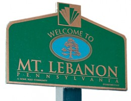 Mt. Lebanon sign