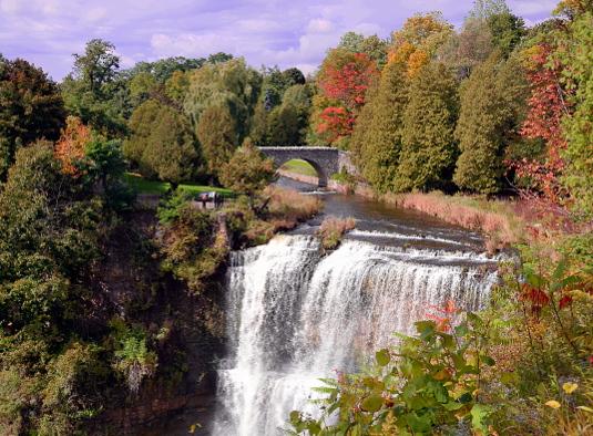 Webster Falls, Dundas, Ontario, Canada