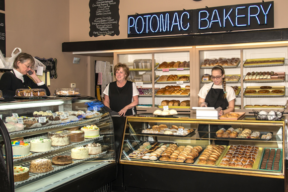 Potomac Bakery on Washington Road has been a family-owned South Hills fixture since 1927.  All of the baking is done at Potomac's Dormont location. Along with retail sales, Potomac supplies local restaurants and other businesses with baked goods.