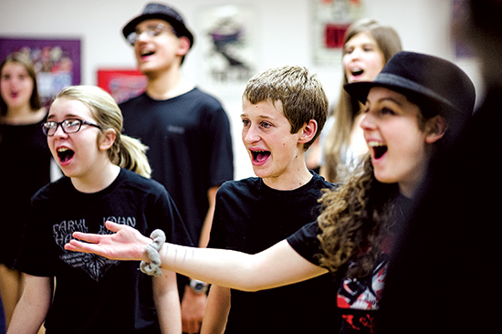 Since 1981, the Center for Theater Arts has been a place for students to develop their performance chops. While the majority of Center alums do not go on to a career in the performing arts, the skills and confidence they learn at the Center serve them for a lifetime in whatever profession they choose.