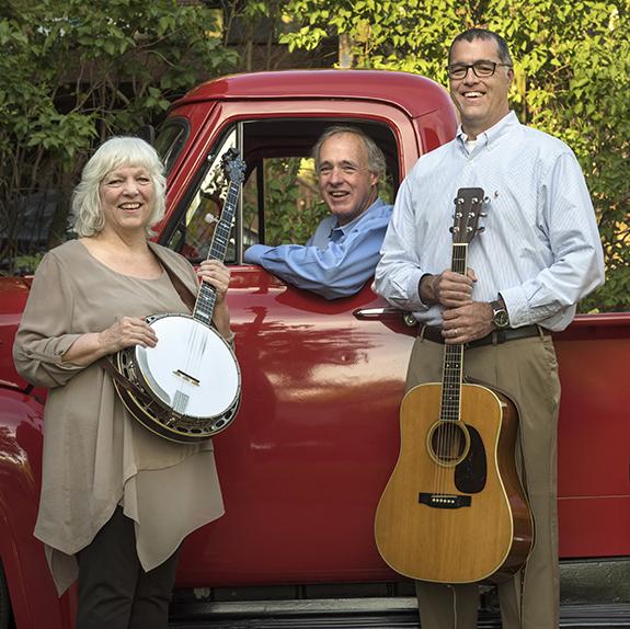 Wendy Mackin, John Mackin and son Jack Mackin of The Mackin Band in Mt. Lebanon.