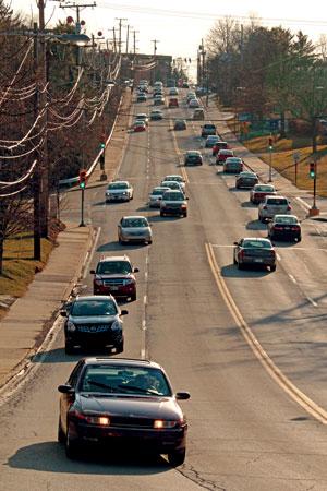 Bower_Hill_traffic