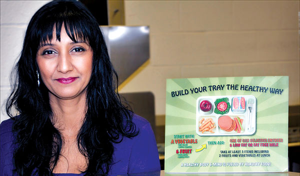 Food Service Director Tazeen Chowdbury has helped create dietary guidelines that have won Mt. Lebanon schools several awards and made our community a regional model for raising healthy kids.