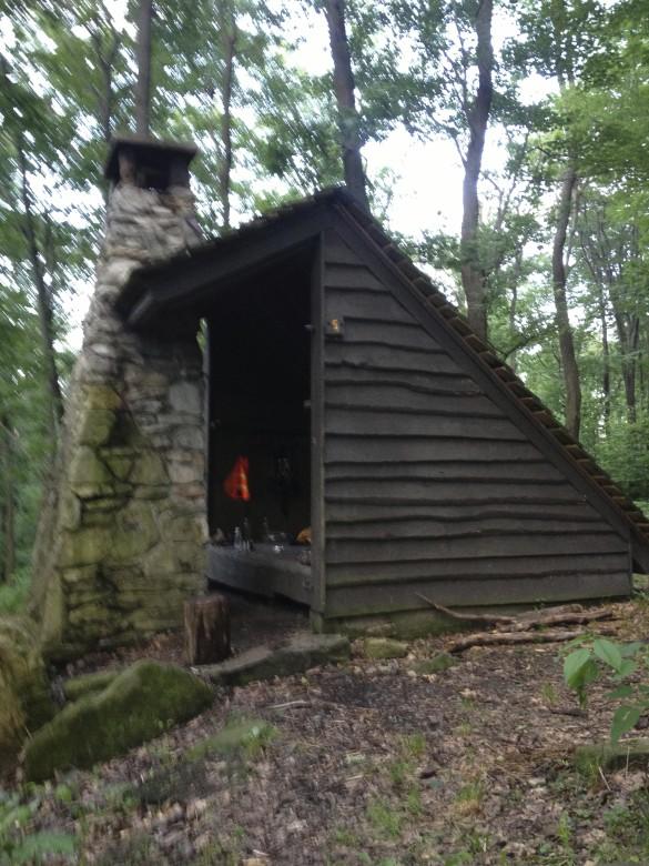 Shelter 5 at mile 46