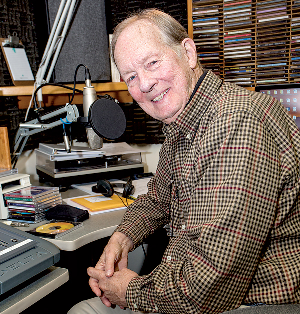 Jack Bogut on WJAS 1320 AM, draws listeners in by speaking with warmth and humor.