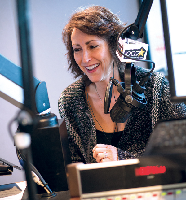 Shelley Duffy on 100.7 Star Pittsburgh helps listeners greet the day with laughter.
