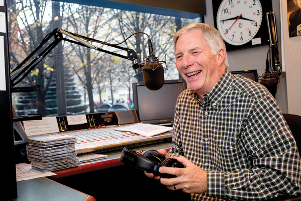 Ted Sohier laughs when he acknowledges that his voice has always sounded older than he is. It has served him well in his career, which has included both television and radio.