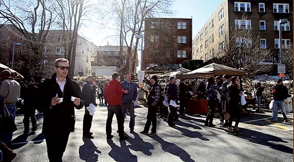 Winterfest cuts the February chill with a chili cookoff, ice scultpures and locally made beer.