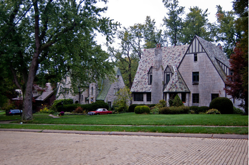 344 and 350 Jefferson Drive: contributing properties to the Mt. Lebanon Historic District.