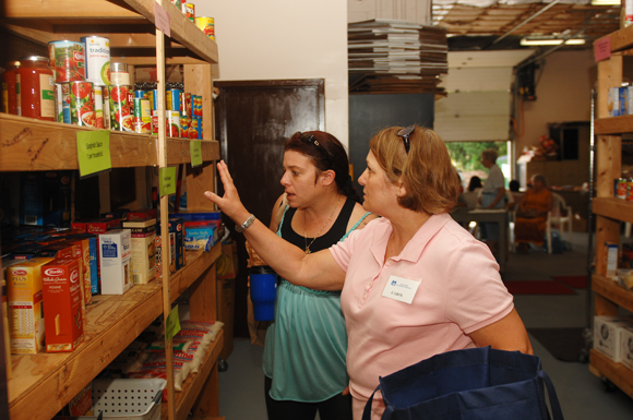 SHIM food pantry