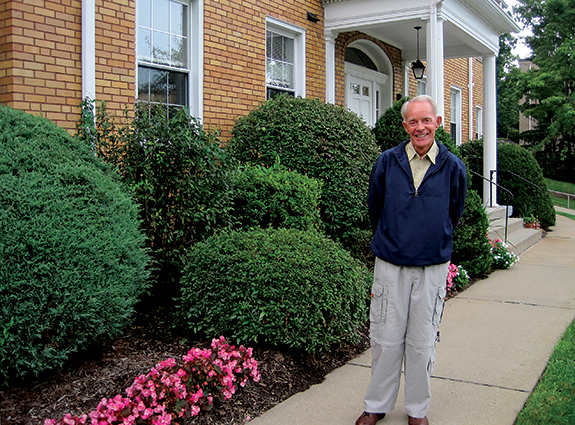 Tihamer Revak visits Baptist Homes, where he lived with his siblings from 1943 to 1948. Revak has fond memories of living there and says the lessons he learned in independence and work ethic went beyond the classroom.