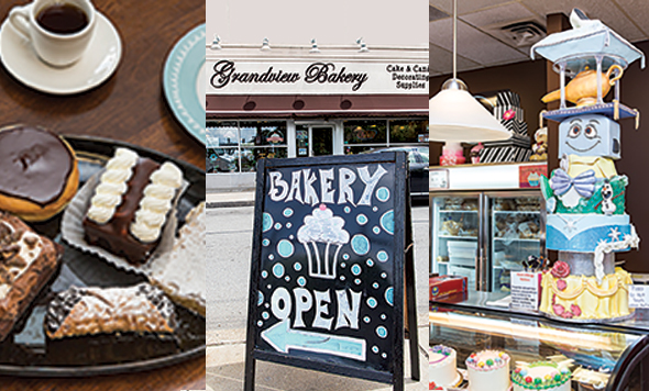 Rather than trying to choose among the donuts, brownies, cakes, pies and multiple other sweets at Grandview Bakery, the best decision is just to grab a friend and try them all.