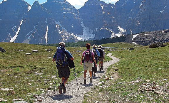 Hiking at the End of the Earth, an 11-day trip to Patagonia, is a popular Road Scholar trip.