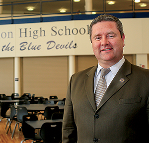 High School Principal Brian McFeeley