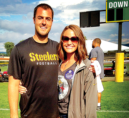 The fortunes of the NFL draft led Landry and Whitney Jones to Pittsburgh in 2013. After spending a year in a downtown Pittsburgh apartment, the Joneses found a home in Mt. Lebanon.
