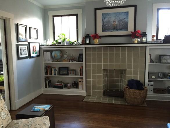 Shelves...after