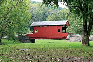 Mingo Creek County Park has a wealth of trails and is about a 20-minute drive from Mt. Lebanon.