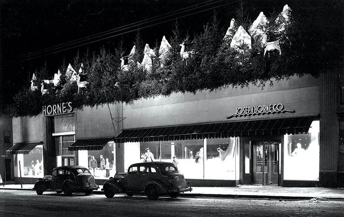 Horne's Department store Uptown was where everyone shopped in the '50s.