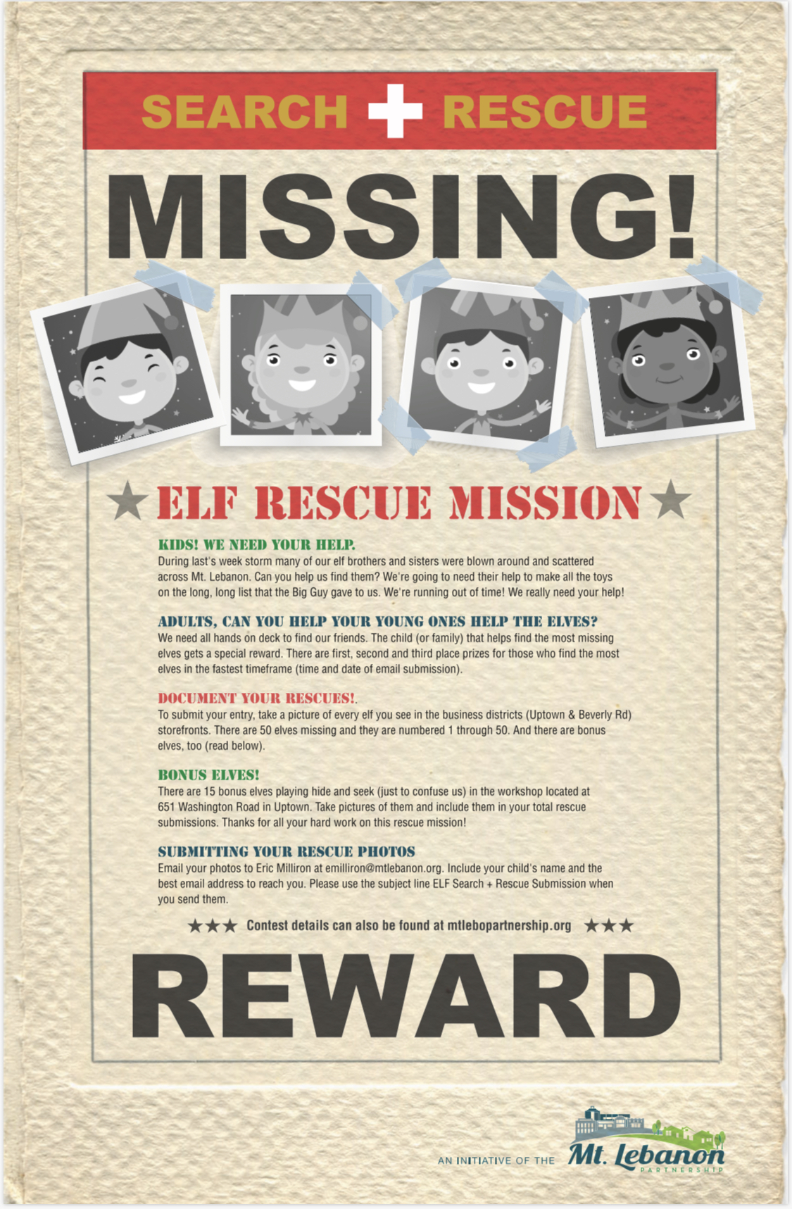 Here's everything you need to know about the Elf Search + Rescue Mission!