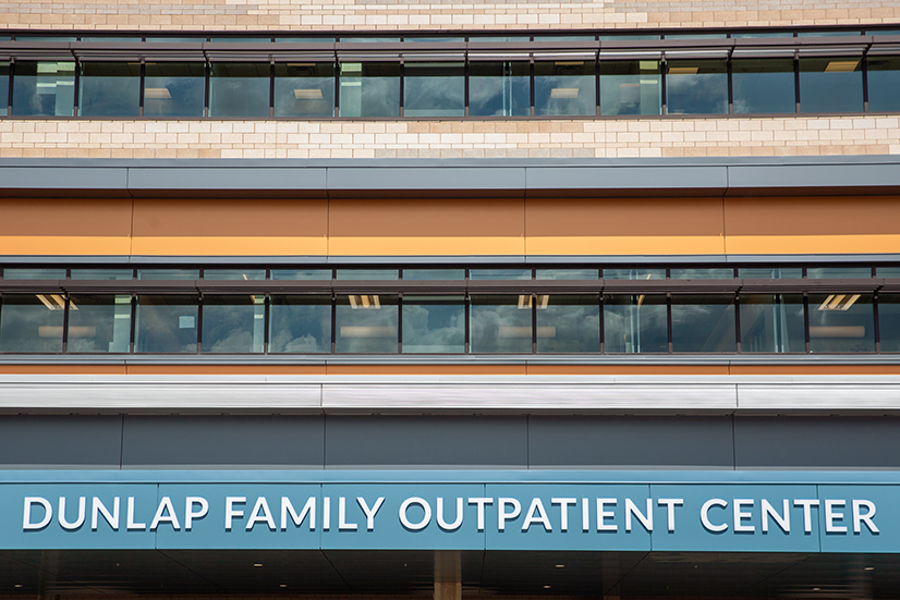St. Clair Health's Dunlap Family Outpatient Center.
