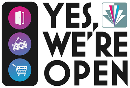 Yes we're open graphic